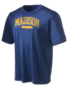 Madison Middle School Bulldogs Champion Men's Wicking T-Shirt