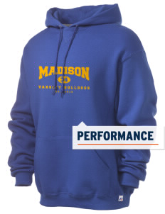 Madison Middle School Bulldogs Russell Men's Dri-Power Hooded Sweatshirt