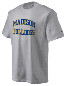 Madison Middle School Bulldogs Champion Men's Tagless T-Shirt