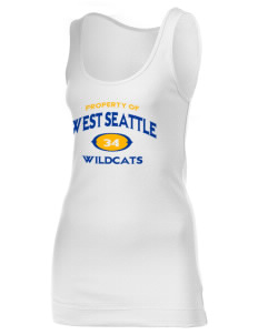 West Seattle High School Wildcats Juniors' 1x1 Tank