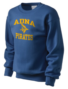 Adna Senior High School Pirates Kid's Crewneck Sweatshirt