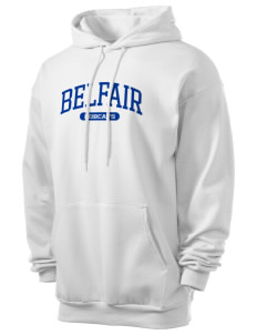 Belfair Elementary School Bobcats Men's 7.8 oz Lightweight Hooded Sweatshirt