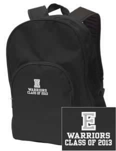Eatonville Elementary School Warriors Embroidered Value Backpack