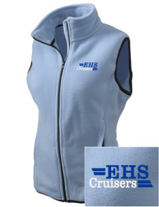 Eatonville High School Cruisers Embroidered Women's Fleece Vest