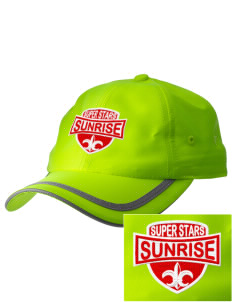Sunrise Elementary School Super Stars  Embroidered Safety Cap