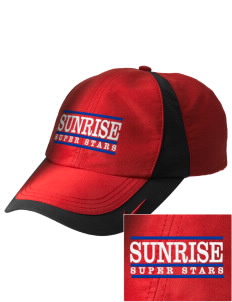 Sunrise Elementary School Super Stars Embroidered Nike Golf Colorblock Cap
