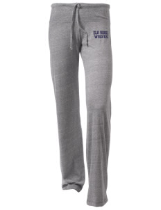 Elk Ridge Elementary School Wolves Alternative Women's Eco-Heather Pants