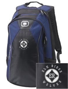 Elk Ridge Elementary School Wolves Embroidered OGIO Marshall Backpack