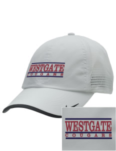 Westgate Elementary School Cougars Embroidered Nike Dri-FIT Swoosh Perforated Cap