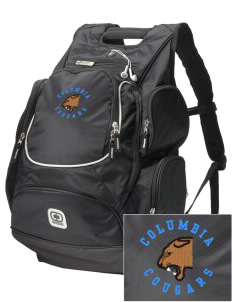 Columbia Elementary School Cougars  Embroidered OGIO Bounty Hunter Backpack