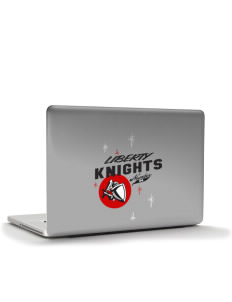 "Liberty Elementary School Knights Apple MacBook Pro 15.4"" Skin"