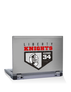 "Liberty Elementary School Knights 14"" Laptop Skin"