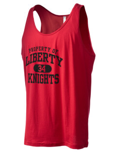 Liberty Elementary School Knights Men's Jersey Tank