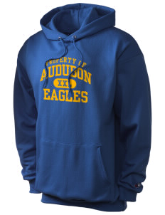 Audubon Elementary School Eagles Champion Men's Hooded Sweatshirt