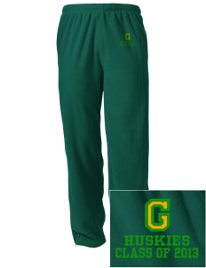 Grant Elementary School Huskies Embroidered Holloway Men's Flash Warmup Pants
