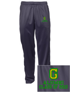 Grant Elementary School Huskies Embroidered Men's Tricot Track Pants