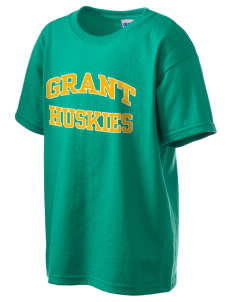 Grant Elementary School Huskies Kid's 6.1 oz Ultra Cotton T-Shirt