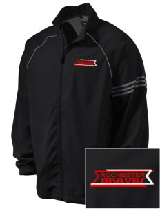 Rochester Middle School Braves Embroidered adidas Men's ClimaProof Jacket