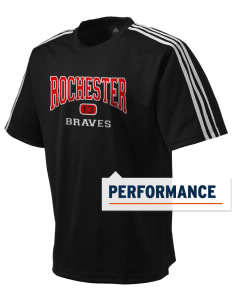 Rochester Middle School Braves adidas Men's ClimaLite T-Shirt
