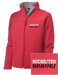 Rochester Middle School Braves Embroidered Women's Soft Shell Jacket
