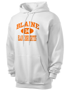 Blaine High School Blaine Borderites Men's 7.8 oz Lightweight Hooded Sweatshirt