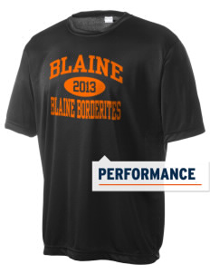 Blaine High School Blaine Borderites Men's Competitor Performance T-Shirt