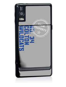 Colton High School Wildcats Motorola Droid 2 Skin