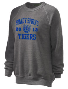 Shady Spring Elementary School Tigers Unisex Alternative Eco-Fleece Raglan Sweatshirt