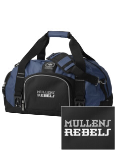 Mullens Elementary School Rebels  Embroidered OGIO Big Dome Duffel Bag
