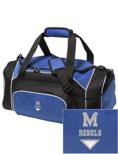 Mullens Elementary School Rebels Embroidered Holloway Duffel Bag