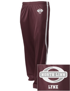 North Linn Elementary School Lynx Embroidered Holloway Men's Tricotex Warm Up Pants