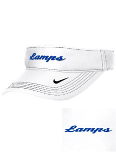 University Baptist Montessori Lamps Embroidered Nike Golf Dri-Fit Swoosh Visor
