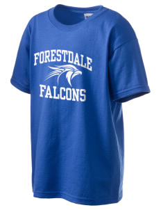 Forestdale School Falcons Kid's 6.1 oz Ultra Cotton T-Shirt