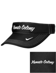 Yamato Colony Elementary School Dragons Embroidered Nike Golf Dri-Fit Swoosh Visor