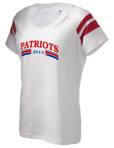 Vandenberg Elementary School Patriots Holloway Women's Shout Bi-Color T-Shirt