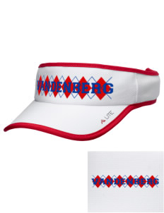 Vandenberg Elementary School Patriots Embroidered Lite Series Active Visor