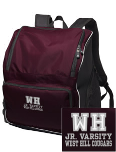 West Hills Intermediate School West Hill Cougars Embroidered Holloway Backpack