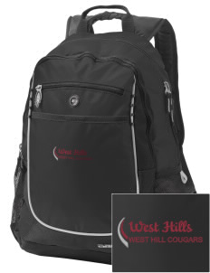 West Hills Intermediate School West Hill Cougars Embroidered OGIO Carbon Backpack