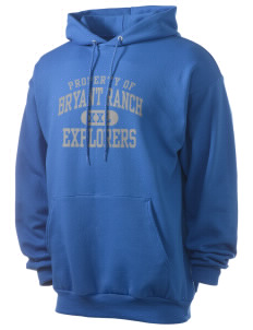 Bryant Ranch Elementary School Explorers Men's 7.8 oz Lightweight Hooded Sweatshirt