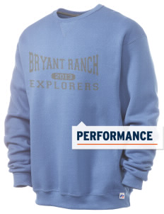 Bryant Ranch Elementary School Explorers  Russell Men's Dri-Power Crewneck Sweatshirt
