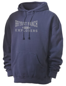Bryant Ranch Elementary School Explorers Men's 80/20 Pigment Dyed Hooded Sweatshirt