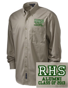 Reedley High School Pirates Embroidered Men's Twill Shirt