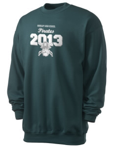 Reedley High School Pirates Men's 7.8 oz Lightweight Crewneck Sweatshirt