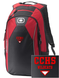 Central City Community High School Wildcats Embroidered OGIO Marshall Backpack