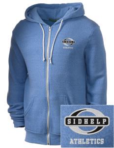SIDHelp Athletics Embroidered Alternative Men's Rocky Zip Hooded Sweatshirt