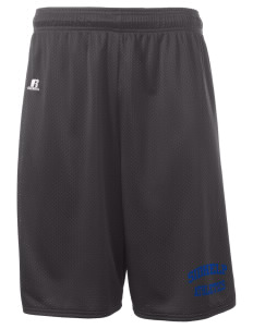 "SIDHelp Athletics  Russell Deluxe Mesh Shorts, 10"" Inseam"