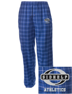 SIDHelp Athletics Embroidered Men's Button-Fly Collegiate Flannel Pant