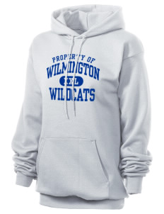 Wilmington High School Wildcats Unisex 7.8 oz Lightweight Hooded Sweatshirt