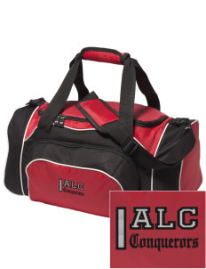 Abundant Life Christian Academy Conquerors Embroidered Holloway Duffel Bag