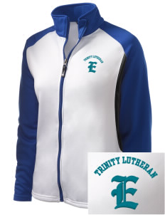 Trinity Lutheran School Eagles Embroidered Holloway Women's Reaction Tri-Color Jacket